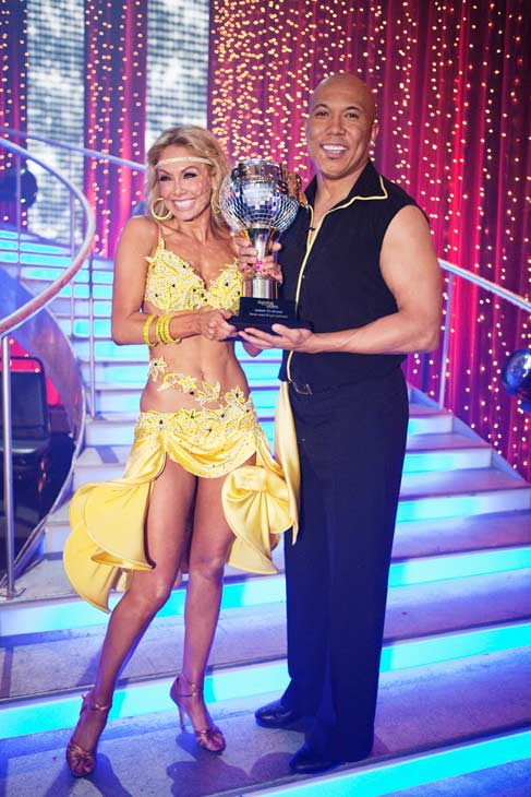 "<div class=""meta image-caption""><div class=""origin-logo origin-image ""><span></span></div><span class=""caption-text"">Hines Ward and his partner Kym Johnson were crowned the champions of ""Dancing With The Stars"" season 12 on Tuesday, May 24, 2011. The pair danced a Quickstep and a Freestyle dance on Monday.  The judges gave the couple 29 out of 30 for their Quickstep and 30 points out of 30 for their Freestyle. On Tuesday, the two performed their favorite dance -- a Samba. The judges gave the couple 30 out of 30. With their scores from Monday, the couple earned a total of 89 out of 90. (OTRC Photo)</span></div>"