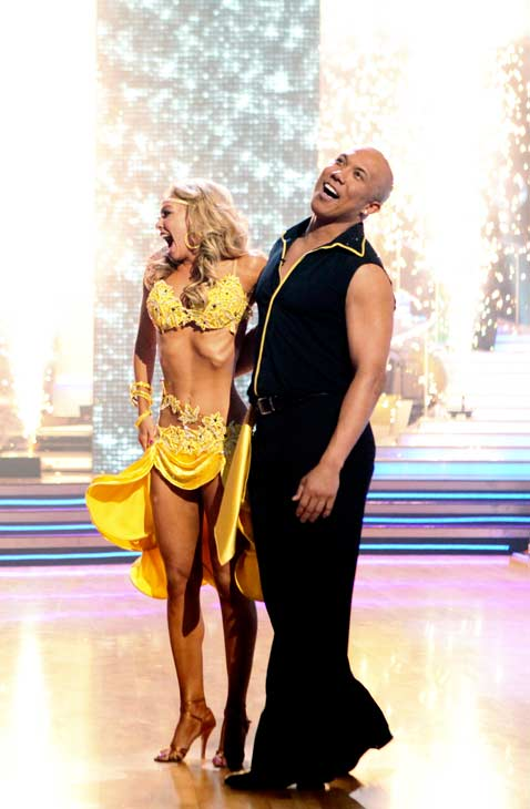 Hines Ward and his partner Kym Johnson were crowned the champions of
