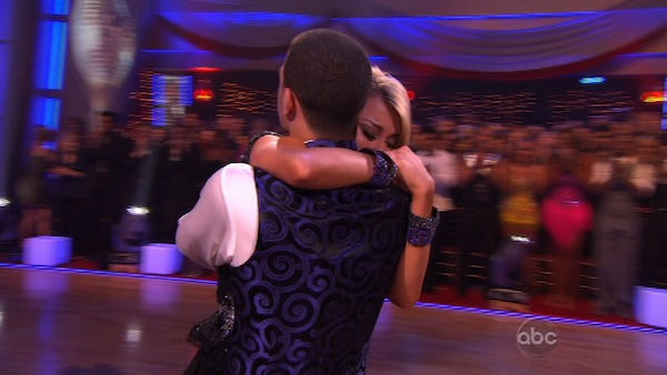 Chelsea Kane and her partner Mark Ballas came in third place. The two danced a Samba and a Freestyle dance on Monday. The judges gave the couple 29 out of 30 for their Samba and 30 points out of 30 for their Freestyle. On Tuesday, the two performed their
