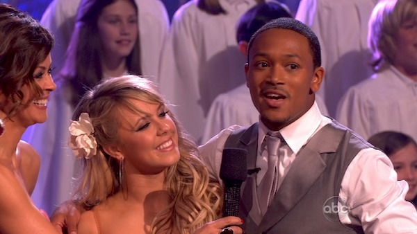 "<div class=""meta image-caption""><div class=""origin-logo origin-image ""><span></span></div><span class=""caption-text"">Romeo returned to the 'Dancing With The Stars' dance floor on the season 12 finale on May 24, 2011. (OTRC Photo)</span></div>"