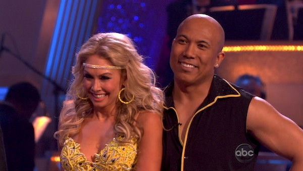 "<div class=""meta ""><span class=""caption-text "">Hines Ward and his partner Kym Johnson performed their favorite dance -- a Samba on Tuesday. The judges gave the couple 30 out of 30. With their scores from Monday, the couple earned a total of 89 out of 90. (OTRC Photo)</span></div>"