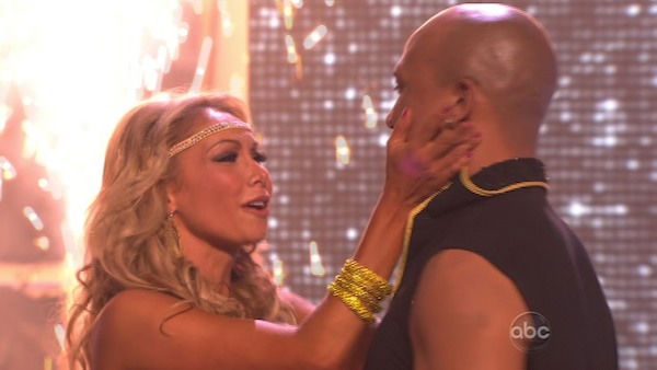 Hines Ward and his partner Kym Johnson were...