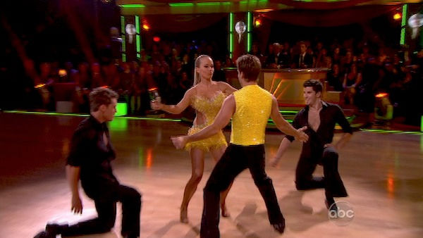 "<div class=""meta image-caption""><div class=""origin-logo origin-image ""><span></span></div><span class=""caption-text"">Kendra Wilkinson returned to the 'Dancing With The Stars' dance floor on the season 12 finale on May 24, 2011. (OTRC Photo)</span></div>"