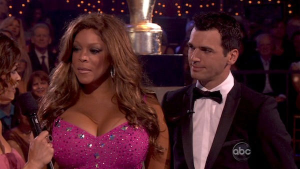 Wendy Williams returned to the 'Dancing With The Stars' dance floor on the season 12 finale on May 24, 2011.