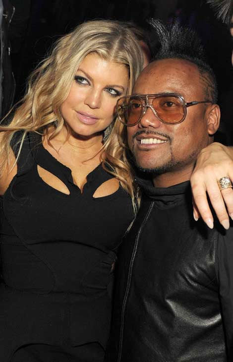 Fergie and Apl.de.ap of The Black Eyed Peas...