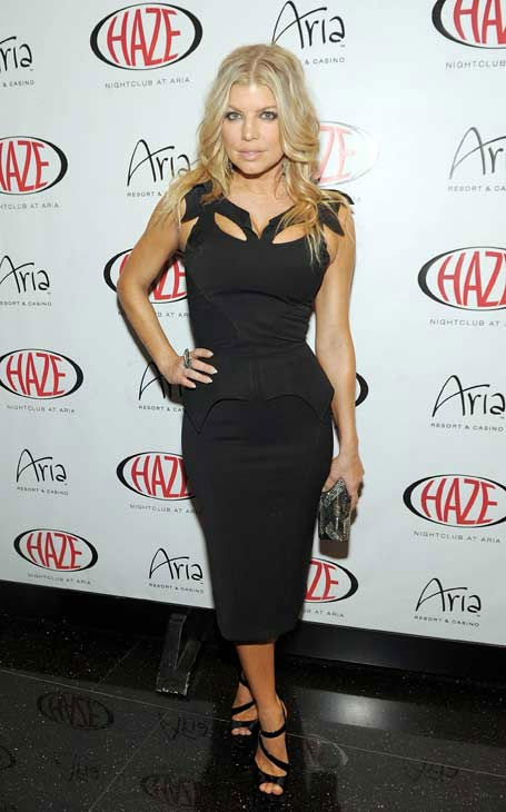 Fergie of The Black Eyed Peas arrives at Haze Nightclub on May 20, 2011 in Las Vegas, Nevada.