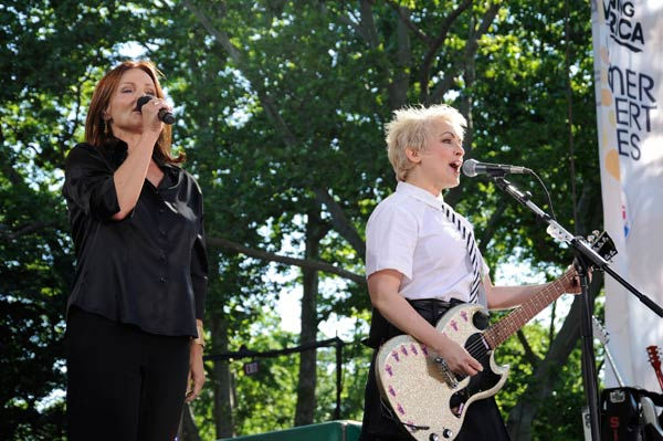 "<div class=""meta ""><span class=""caption-text "">The Go-Go's celebrates 30 years in entertainment with an anniversary album and a live performance in Central Park as part of the ""GMA Summer Concert Series,"" airing on ""Good Morning America"" on June 3, 2011. (ABC / Donna Svennevik)</span></div>"