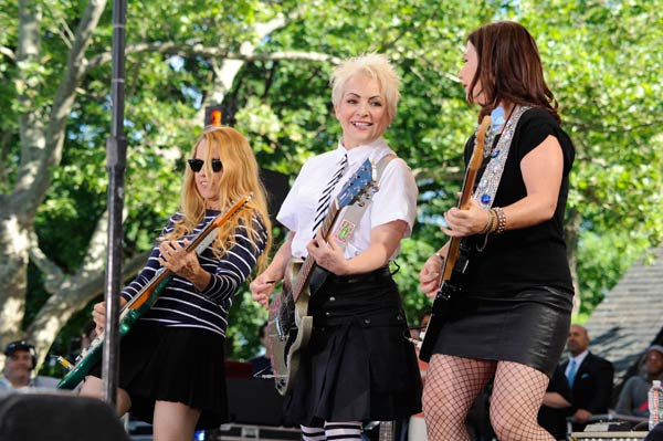 The Go-Go's celebrates 30 years in entertainment with an anniversary album and a live performance in Central Park as part of the