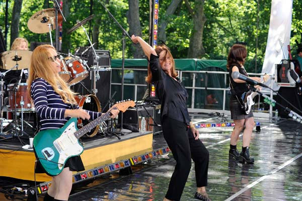 The Go-Go's celebrates 30 years in entertainment...