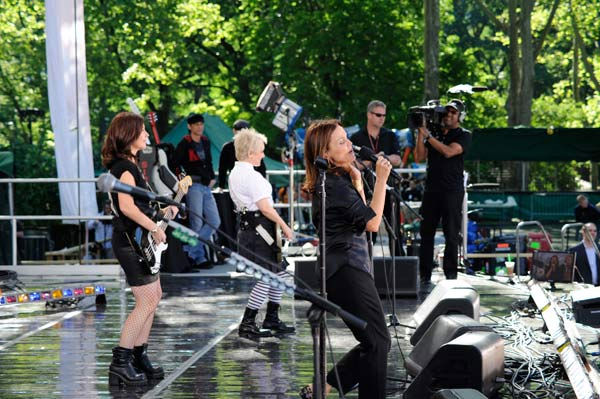 "<div class=""meta image-caption""><div class=""origin-logo origin-image ""><span></span></div><span class=""caption-text"">The Go-Go's celebrates 30 years in entertainment with an anniversary album and a live performance in Central Park as part of the ""GMA Summer Concert Series,"" airing on ""Good Morning America"" on June 3, 2011. (ABC / Donna Svennevik)</span></div>"