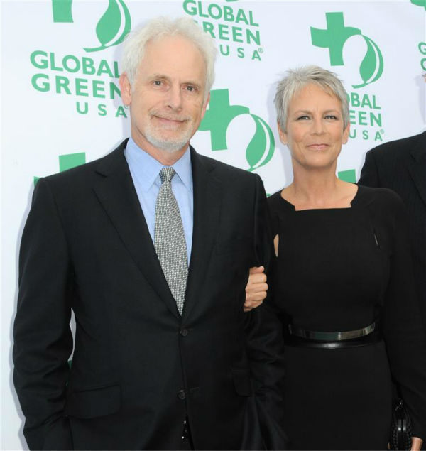Jamie Lee Curtis and husband Christopher Guest appear at Global Green USA&#39;s 15th annual Millennium Awards in Santa Monica, California on June 4, 2011. The two wed in December 1984 and are parents to a son and daughter. <span class=meta>(Sara De Boer &#47; Startraksphoto.com)</span>