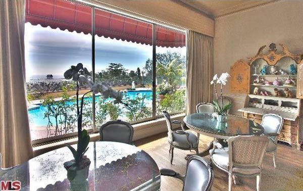 A view of Zsa Zsa Gabor's 4-bedroom, 5.5 bathroom Bel Air home. The property is on the market for $15 million.