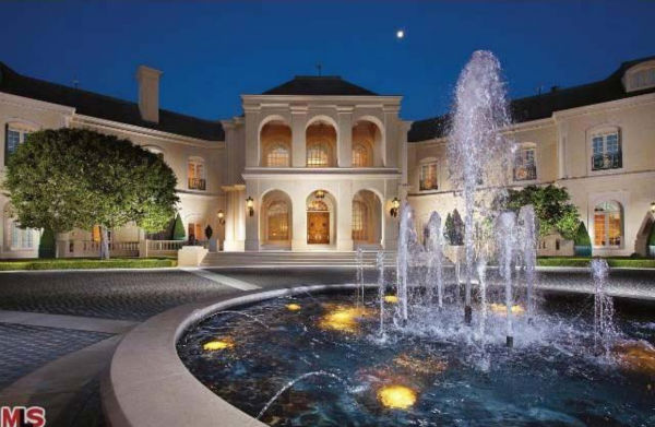 Aaron Spelling's 57,000-square foot Los Angeles...