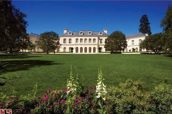 The grounds of Aaron Spelling's 57,000-square...