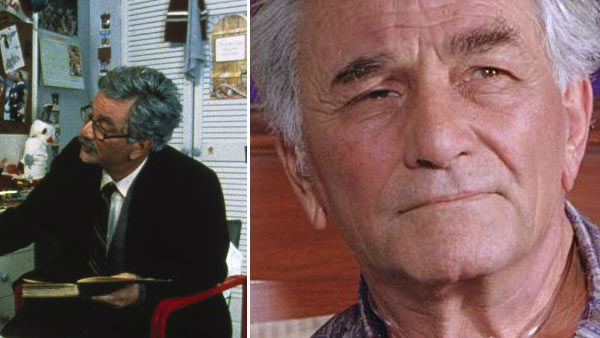 Peter Falk appeared as the grandfather and narrator in &#39;The Princess Bride.&#39; The actor died on June 23, 2011 at age 83 after battling dementia for years, he is survived by his wife of 34 years, Shera, and two daughters from a previous marriage.Falk began playing homicide detective Lieutenant Columbo on the television show by the same name in the early 1970s as well as in several television movies. Falk won five Emmy Awards during his career, as well as a Tony award for his part in the 1971 Neil Simon play, &#39;The Prisoner of Second Avenue.&#39; Falk was nominated for Oscars for his roles in the 1960 movie &#39;Murder, Inc.&#39; and in the 1961 film &#39;Pocketful of Miracles.&#39;  Falk also starred in movies such as &#39;A Woman Under The Influence&#39; in 1974, &#39;Wings of Desire&#39; in 1987 and the comedy &#39;Corky Romano&#39; in 2001. His last on-screen acting project was the 2009 film &#39;American Cowslip.&#39; &#40;Pictured: Peter Falk appears in a still from &#39;The Princess Bride.&#39; &#47; Peter Falk appears in a still from the 2001 film &#39;Corky Romano.&#39;&#41; <span class=meta>(MGM &#47; Touchstone Pictures &#47; Jon Farmer)</span>