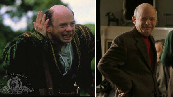 Wallace Shawn portrayed Vizzini in the 1989 fantasy film &#39;The Princess Bride.&#39; The actor has appeared in over 80 movies including &#39;Manhattan,&#39; the &#39;Toy Story&#39; trilogy, &#39;Clueless&#39; and &#39;Vegas Vacation.&#39;  Shawn later starred on The CW&#39;s &#39;Gossip Girl&#39; as Cyrus Rose, who married Blair Waldorf&#39;s mother. &#40;Pictured: Wallace Shawn appears in a still from &#39;The Princess Bride.&#39; &#47; Wallace Shawn appears in a still from &#39;Gossip Girl.&#39;&#41; <span class=meta>(MGM &#47; CW)</span>