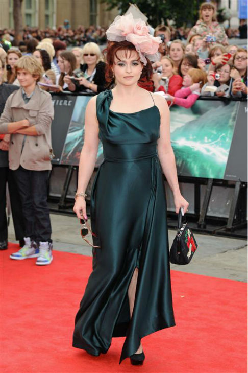 Helena Bonham Carter appears at the premiere of &#39;Harry Potter and the Deathly Hallows - Part 2&#39; in London on July 7, 2011. <span class=meta>(Nick Sadler &#47; Startraksphoto.com)</span>