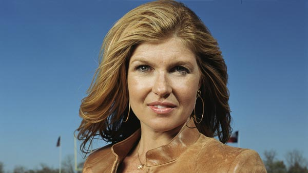 Connie Britton of &#39;Friday Night Lights&#39; on being nominated for Outstanding Lead Actress in a Drama: &#39;I was in fact asleep during the nominations - it truly is the &#39;I&#39;m in bed asleep&#39; story -- &#39;cause, you know, I&#39;m in L.A. and it&#39;s freakin&#39; early, dude! Then my publicist called me and told me. I actually had a weird dream in the middle of the night that we didn&#39;t get nominated and Kyle [Chandler] and I were talking, like, &#39;Yeah, we didn&#39;t get nominated.&#39; So I woke up from a series of bad dreams to have a very happy reality. Kyle called me and was like, &#39;I just jumped in the pool with my wife!&#39; &#39;Cause he&#39;s in Austin, and he was thrilled. I told him he better not blow out of the Emmys early like he did last year,&#39; the actress said in a statement to TVLine.  This is Britton&#39;s second Emmy nomination. She was nominated in 2010 for her role on &#39;Friday Night Lights.&#39; &#40;Pictured: Connie Britton in a promotional still for &#39;Friday Night Lights&#39;&#41;  <span class=meta>(AMC)</span>