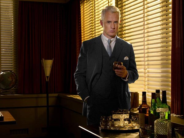 "<div class=""meta image-caption""><div class=""origin-logo origin-image ""><span></span></div><span class=""caption-text"">John Slattery of 'Mad Men' on being nominated for Outstanding Supporting Actor in a Drama: 'I was actually out of the house, taking my friends to the ferry on Fire Island, so I was away when I got the first couple of calls. It would be silly to start to expect things like this to happen. So yes, I was surprised. The good thing about being on Fire Island is that Internet-wise, it's like 1982 there. It's pretty easy to disconnect,' the actor said in a statement to TVLine.  This is Slattery's fourth Emmy nomination. He has been previously nominated in 2010, 2009 and 2008 for his role on 'Mad Men.' (Pictured: John Slattery in a promotional still for 'Mad Men')  (AMC)</span></div>"