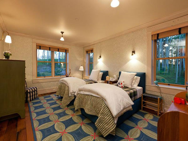 A child's bedroom in Jerry Seinfeld's mansion in...
