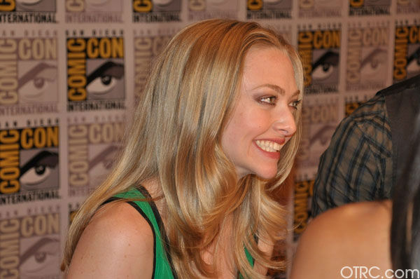 Amanda Seyfried appears in a photo at Comic-Con in San Diego on Thursday, July 21, 2011. <span class=meta>(OTRC Photo)</span>