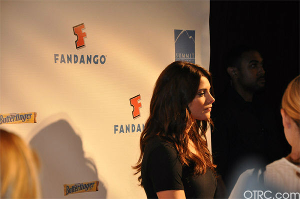 Ashley Greene from &#39;The Twilight Saga&#39; appears in a photo at the Summit Comic-Con party sponsored by Butterfinger at the Hard Rock Hotel in San Diego on Thursday, July 21, 2011. <span class=meta>(OTRC Photo)</span>