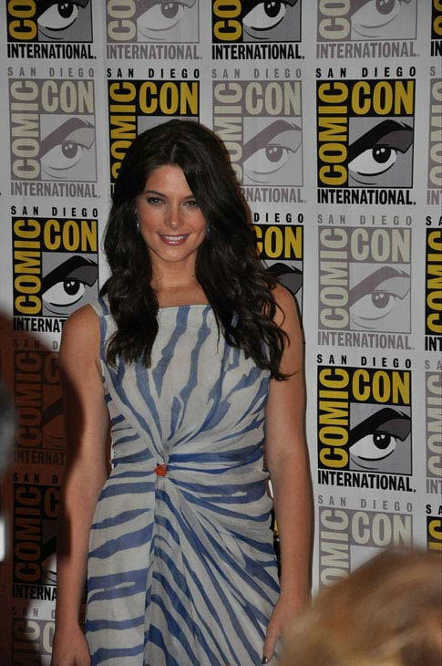 Ashley Greene from 'The Twilight Saga' appears in a photo at Comic-Con in San Diego on Thursday, July 21, 2011.