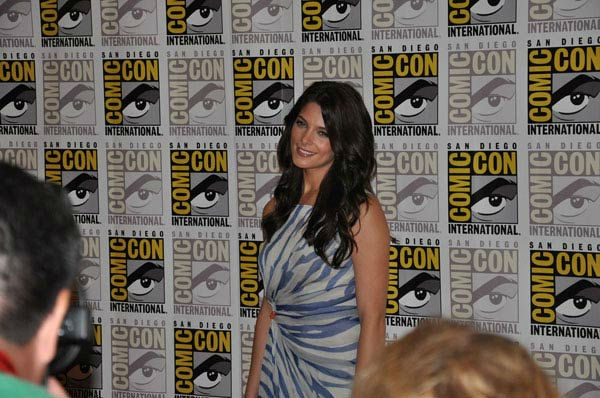 Ashley Greene from &#39;The Twilight Saga&#39; appears in a photo at Comic-Con in San Diego on Thursday, July 21, 2011. <span class=meta>(OTRC Photo)</span>