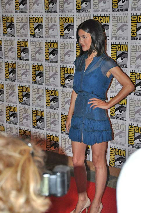 Julia Jones &#39;The Twilight Saga&#39; appears in a photo at Comic-Con in San Diego on Thursday, July 21, 2011. <span class=meta>(OTRC Photo)</span>