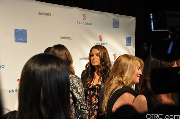 Nikki Reed from &#39;The Twilight Saga&#39; appears in a photo at the Summit Comic-Con party sponsored by Butterfinger at the Hard Rock Hotel in San Diego on Thursday, July 21, 2011. <span class=meta>(OTRC Photo)</span>