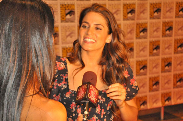 OnTheRedCarpet.com co-host Rachel Smith interviews Nikki Reed from 'The Twilight Saga' at Comic-Con in San Diego on Thursday, July 21, 2011.