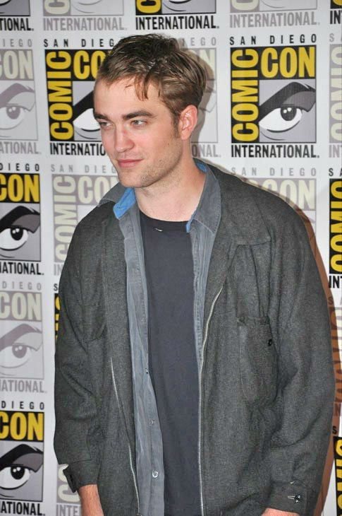 Robert Pattinson from 'The Twilight Saga' appears in a photo at Comic-Con in San Diego on Thursday, July 21, 2011.