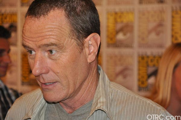 "<div class=""meta ""><span class=""caption-text "">Bryan Cranston from the 'Total Recall' remake panel appears in a photo at Comic-Con in San Diego on Friday, July 22, 2011.The film is scheduled to be released on August 3, 2012. (OTRC Photo)</span></div>"
