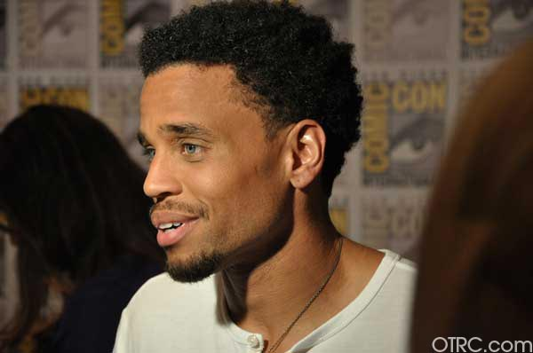 Michael Ealy from the &#39;Underworld: Awakening&#39; appears in a photo at Comic-Con in San Diego on Friday, July 22, 2011. <span class=meta>(OTRC Photo)</span>