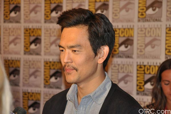 John Cho from the &#39;Total Recall&#39; remake panel appears in a photo at Comic-Con in San Diego on Friday, July 22, 2011.The film is scheduled to be released on August 3, 2012. <span class=meta>(OTRC Photo)</span>