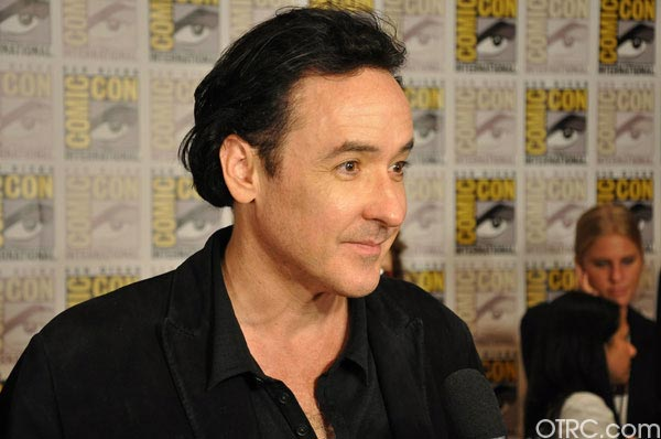 "<div class=""meta ""><span class=""caption-text "">John Cusack from 'The Raven' panel appears in a photo at Comic-Con in San Diego on Friday, July 22, 2011.The film is scheduled to be released on March 9, 2012. (OTRC Photo)</span></div>"