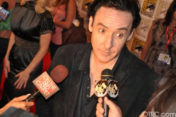 John Cusack from &#39;The Raven&#39; panel appears in a photo at Comic-Con in San Diego on Friday, July 22, 2011.The film is scheduled to be released on March 9, 2012. <span class=meta>(OTRC Photo)</span>