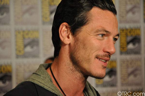 "<div class=""meta ""><span class=""caption-text "">Luke Evans from 'The Raven' panel appears in a photo at Comic-Con in San Diego on Friday, July 22, 2011.The film is scheduled to be released on March 9, 2012. (OTRC Photo)</span></div>"