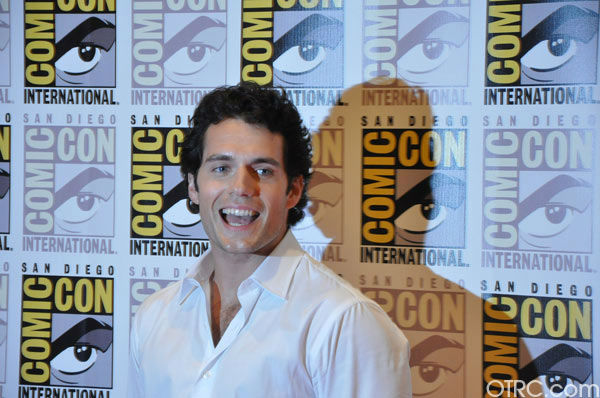 'Immortals' actor Henry Cavill appears in a...