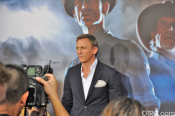 'Cowboys & Aliens' actor Daniel Craig...