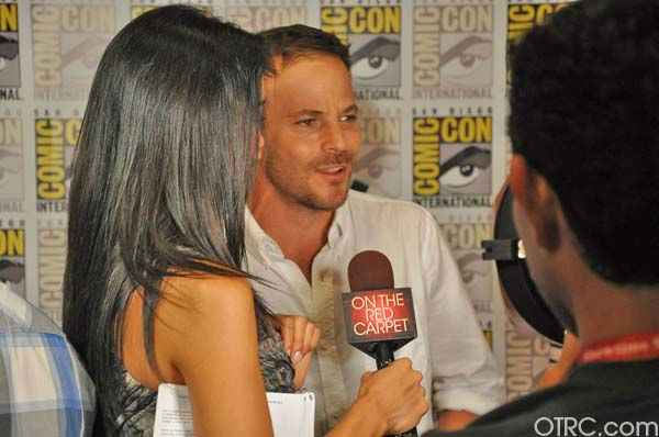 "<div class=""meta ""><span class=""caption-text "">'Immortals' actor Stephen Dorff talks to OnTheRedCarpet.com co-host Rachel Smith at San Diego Comic-Con on Saturday, July 23, 2011. (OTRC Photo)</span></div>"