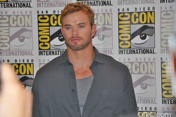 'Immortals' actor Kellan Lutz appears in a photo at San Diego Comic-Con on Saturday, July 23, 2011.