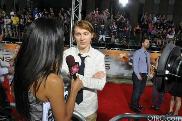 Paul Dano appears at the premiere of &#39;Cowboys &#38; Aliens&#39; at San Diego Comic-Con on Saturday, July 23, 2011. <span class=meta>(OTRC Photo)</span>
