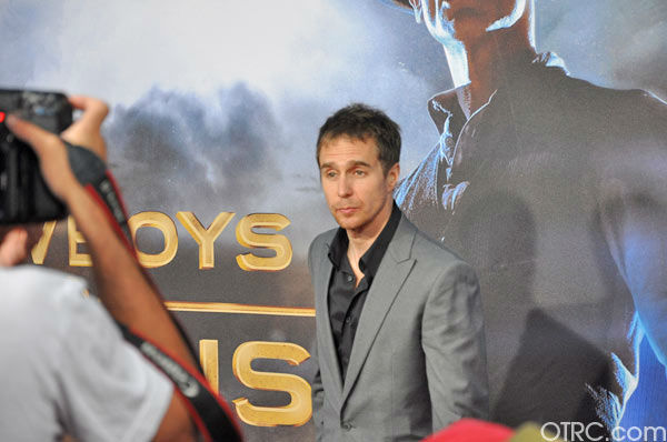 "<div class=""meta ""><span class=""caption-text "">Sam Rockwell appears at the premiere of 'Cowboys & Aliens' at San Diego Comic-Con on Saturday, July 23, 2011. (OTRC Photo)</span></div>"