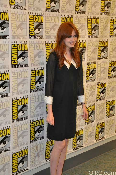 'Dr. Who' actress Karen Gillan appears in a...