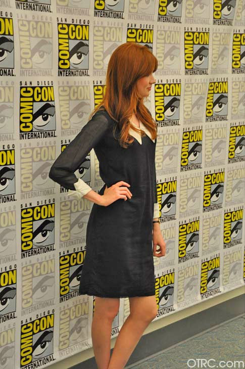 'Dr. Who' actress Karen Gillan appears in a photo at San Diego Comic-Con on Sunday, July 24, 2011.