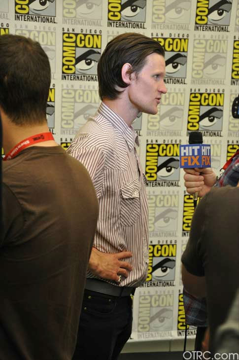 &#39;Dr. Who&#39; actor Matt Smith appears in a photo at San Diego Comic-Con on Sunday, July 24, 2011. <span class=meta>(OTRC Photo)</span>