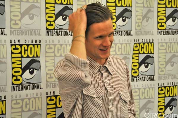 "<div class=""meta ""><span class=""caption-text "">'Dr. Who' actor Matt Smith appears in a photo at San Diego Comic-Con on Sunday, July 24, 2011. (OTRC Photo)</span></div>"