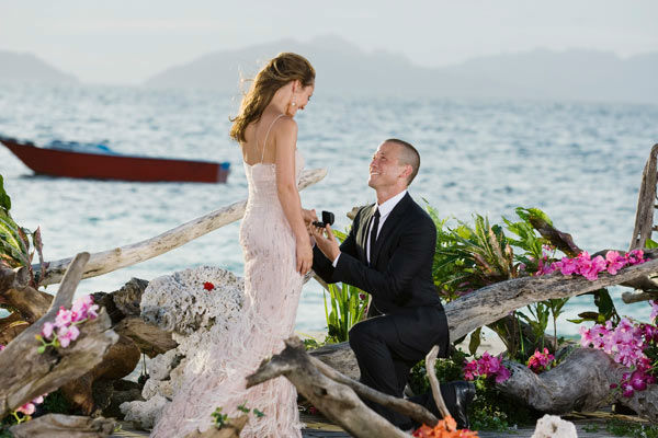 Ashley Hebert and J.P. appear in a scene from &#39;The Bachelorette&#39; season 7 finale, which aired on Monday, August 1 on ABC. In the episode, Ashley Hebert had to choose between the final two bachelors, J.P. and Ben F. <span class=meta>(ABC Photo&#47; Matt Klitscher)</span>