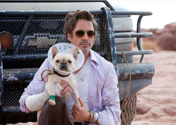 Downey Jr. appears in a scene from the 2010 movie 'Due Date.'